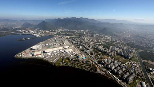 Hosting the Games has facilitated the building of new sports venues, transport infrastructure and hotels in the locale / Getty via IOC