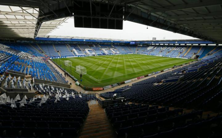 Pitch patterns at Leicester City FC