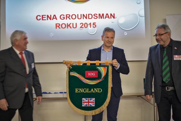 IOG CEO Geoff Webb at Czech Branch conference