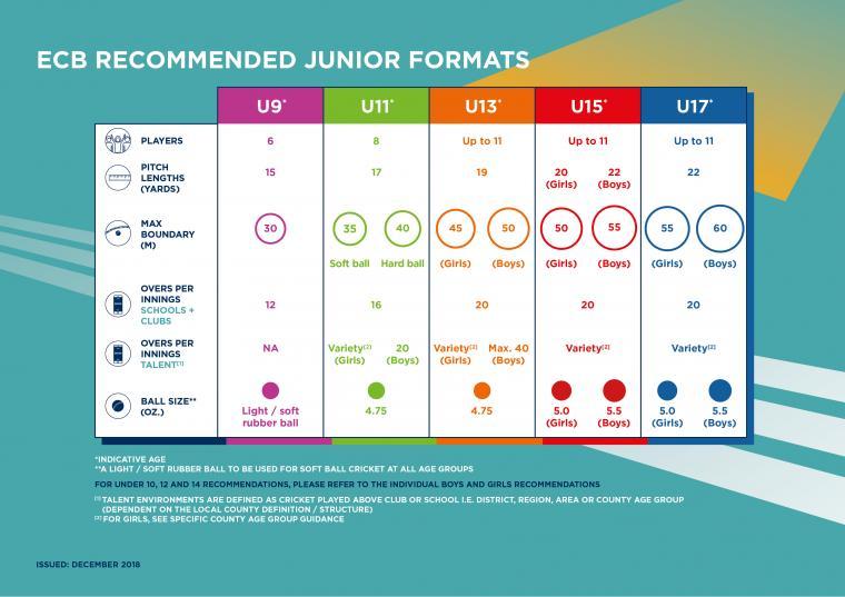New junior cricket formats to enhance children's experience