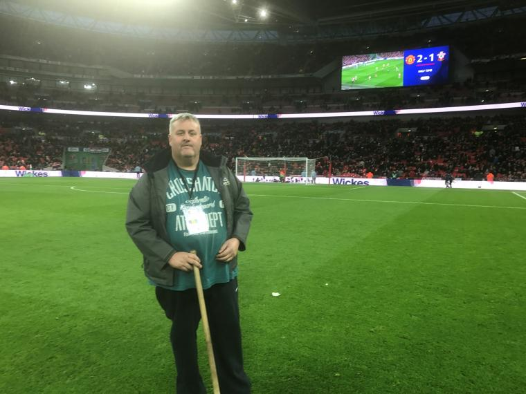 IOG Volunteer of the Year gets EFL Cup Final Wembley experience