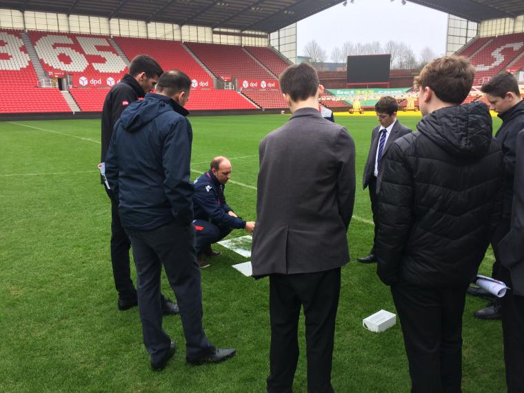 IOG Young Board host Schools into Stadia event at Stoke FC