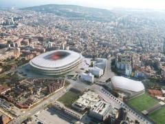 FC Barcelona make breakthrough in bid to build new stadium and 'Barça' district