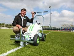 Pitchmark signs up to outdoor demo at SALTEX 2016